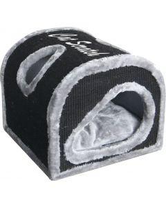 Krabhuis Cocoon Grijs/Zwart 40cm