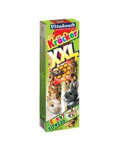 Vitakraft Dwergkonijnkracker XXl Honing 2 in 1