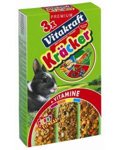 Vitakraft Dwergkonijnenkracker Noot / Bes / Groente