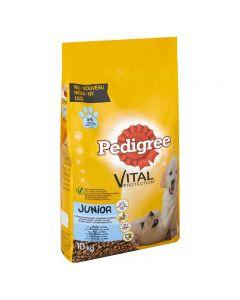 Pedigree Vital Junior Kip en Rijst 10 kg