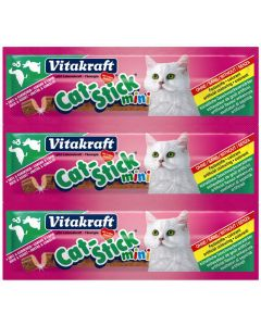 Vitakraft Cat-stick Mini Eend en Konijn
