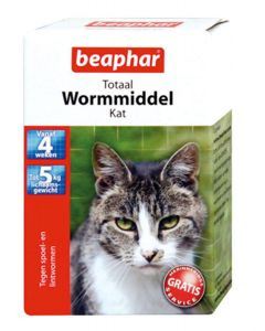 Beaphar Kat 10 Tablet Wormmiddel < 5kg