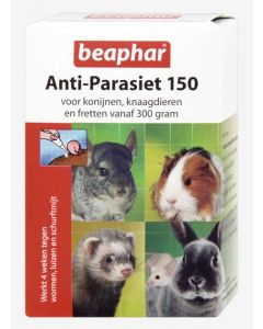 Beaphar Knaagdier Anti-Parasiet 150 4 Pipetten