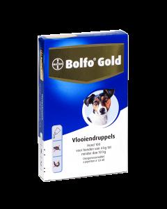 Bolfo Hond 4 Pipet Gold 100 < 10kg