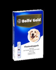 Bolfo Hond 4 Pipet Gold 250 < 25 Kg