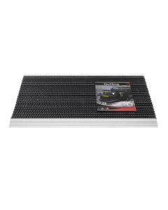 Outline Borstelmat Zwart 50 x 80 CM