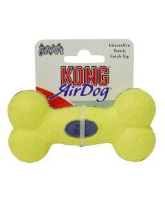 Kong Airdog Squeaker Bone Medium Geel