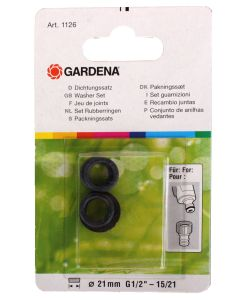 Gardena Rubberringen Set 3 St