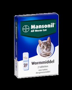 Mansonil All Worm Cat 2 tabletten