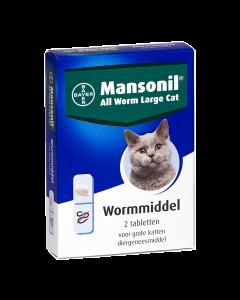 Mansonil Kat 2 Tablet All Worm < 6kg