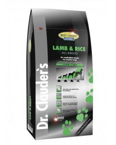 Dr. Clauder's Best Choice All Breed Lam en Rijst 12,5 kg