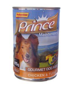 Prince Hond 415 Gr Lifestyle Chunks Kip/Kalkoen