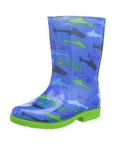 Dunlop Kinderlaars Haai Blauw Pvc