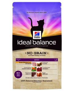 Hills Feline Ideal Balance Adult 300 gr Kip en Aardappel