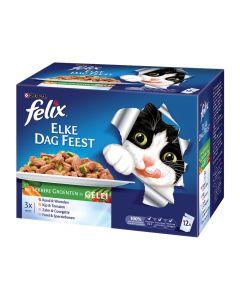 Felix Pouch Elke Dag Feest Groenten 12x100 gr