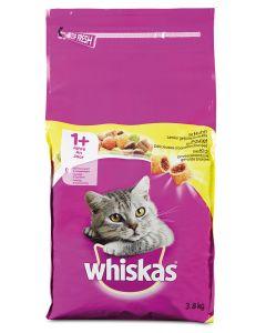 Whiskas Adult met Kip 3,8 kg