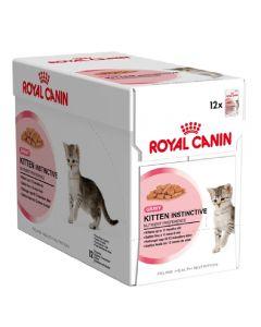 Royal Canin pouch 12x85 g kitten instinctive jelly