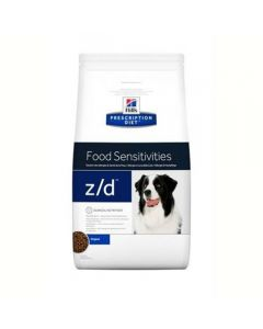 Hills Canine Diet Z/D Skin/Food Sensitivities 10 kg - Levertijd 1-2 werkdagen