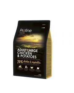 Profine Adult Large Kip & Aardappel 3 kg