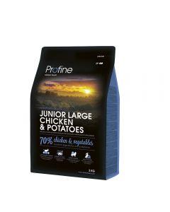 Profine Junior Large Breed Kip & Aardappel