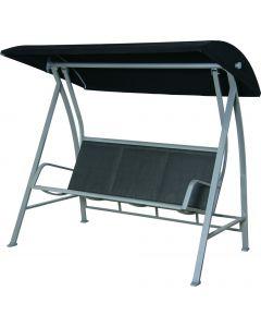 3-Seat Swing Alum. Steel Texilene 197x125xh179cm