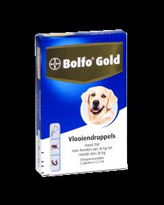 Bolfo Hond 2 Pipet Gold 250 < 25 Kg