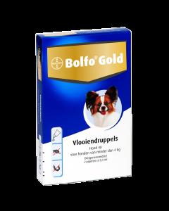 Bolfo Hond 2 Pipet Gold 40 < 4kg