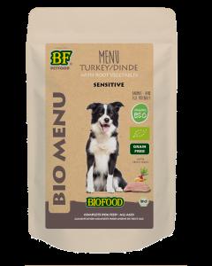 Biofood Hond Organic Kalkoen 150gr