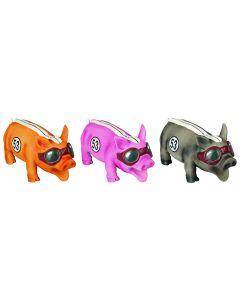 Speelgoed Hond 21 Cm Latex Varken Race