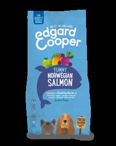 Edgard & Cooper   Verse Noorse Zalm Brok  Voor volwassen honden   Hondenvoer   12kg