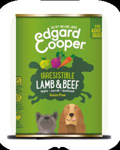 Edgard & Cooper | Lam & Rund Blik | Voor volwassen honden | Hondenvoer | 400g