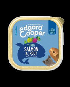 Edgard & Cooper | Zalm & Forel Kuipje | Voor volwassen honden | Hondenvoer | 150g