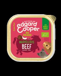 Edgard & Cooper | Biologische Rund Kuipje | Voor volwassen honden | Hondenvoer | 100g