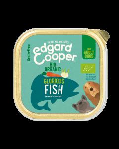 Edgard & Cooper | Biologische Vis Kuipje | Voor volwassen honden | Hondenvoer | 100g