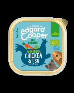 Edgard & Cooper | Eend & Kip Kuipje| Voor Puppy's | Hondenvoer | 150g