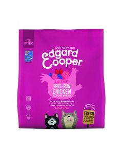 Edgard & Cooper |Verse scharrelkip, scharreleend en MSC-witvis Brok | Voor kittens | Kattenvoer