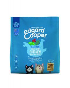 Edgard & Cooper | Verse scharrelkip & MSC-witvis Brok | Voor senior katten | Kattenvoer |