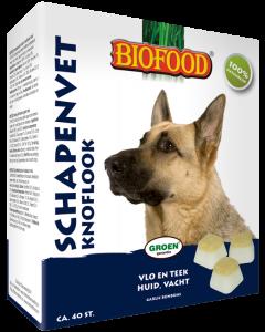 Biofood Schapenvet 40 st Knoflook