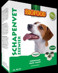 Biofood Schapenvet Mini Zeewier 80 Stuks