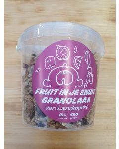 Landmarkt Granolaa Fruit 450gram