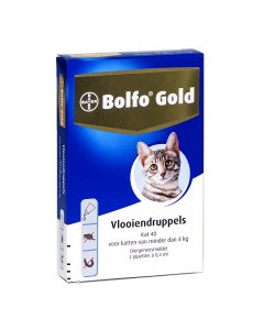 Bolfo Kat 2 Pipet Gold 40 < 4kg