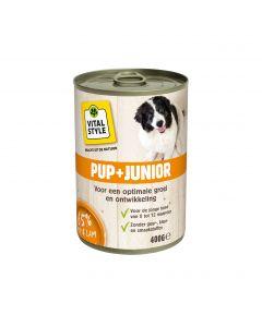 VITALstyle Vitaalvlees Pup + Junior 400rr
