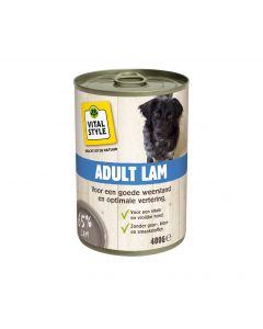 VITALstyle Vitaalvlees Adult Lam 400gr