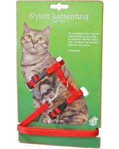 Nylon Kattentuig Met Lijn