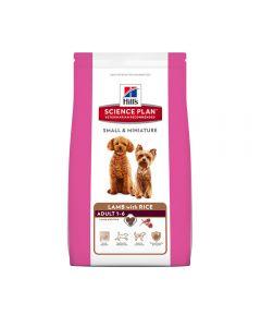 Hills Hond 1,5 Kg Adult Small&Med Lam/Rijst