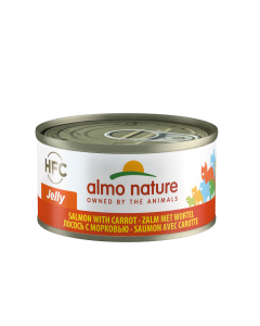 Almo Nature Jelly Zalm/Wortel 70gr