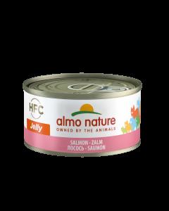 Almo Nature Jelly Zalm 70gr