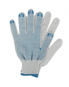Werkhandschoenen Katoen Blauw Maat. M