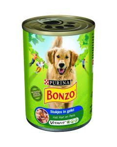 Bonzo Hart en Pens in Gelei 800 gr