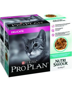Proplan Kat Pouch Delicate 10X85 Gram Vis